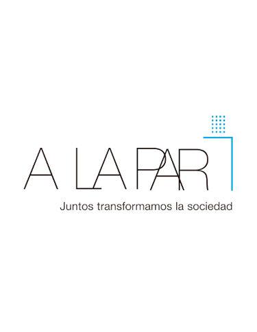 A LA PAR logo - Tee-Shirts Solidaires - Nícoli