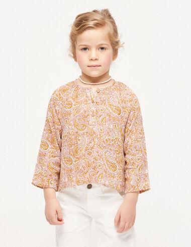 Pink paisley kurta shirt - View all > - Nícoli