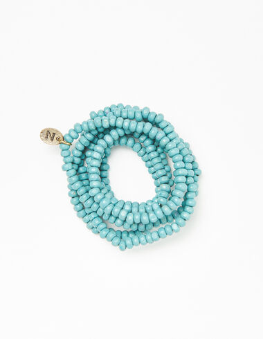 Green bead necklace - Necklaces - Nícoli