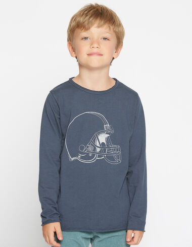 Boy's long-sleeved helmet charity t-shirt - View all > - Nícoli