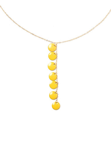 Yellow circles necklace - View all > - Nícoli