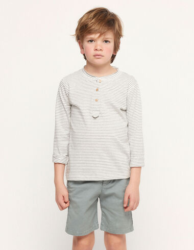Camiseta rayas gris - Ver todo > - Nícoli