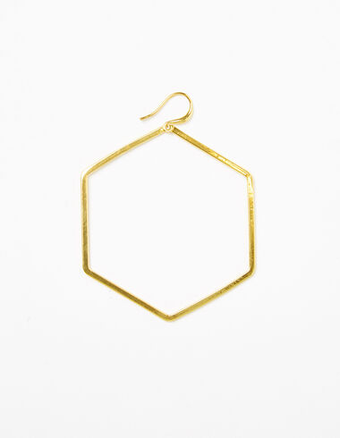 Hexagon earrings - Earrings - Nícoli