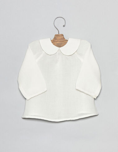 Moon collar baby blouse - Shirts - Nícoli