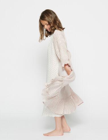 Bata corazones rosa para niña - Pijamas - Nícoli