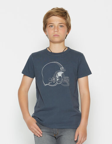 Boy's short-sleeved helmet charity t-shirt - View all > - Nícoli