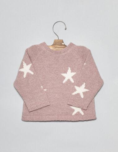 Pull rose étoiles pour bébés - Voir tout > - Nícoli