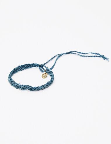Bracelet fil bleu - Voir tout > - Nícoli