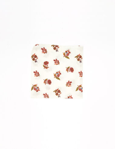 Multicoloured floral scarf - New Flower Print - Nícoli