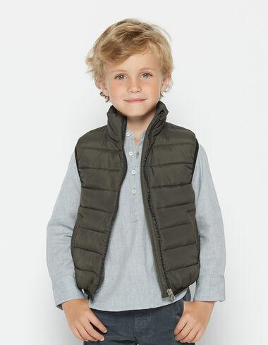 Boy's green waistcoat - View all > - Nícoli