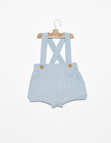 Pantalon français bleu - Blue Like the Sea - Nícoli