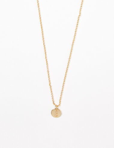 """Letter """"E"""" necklace - View all > - Nícoli"""