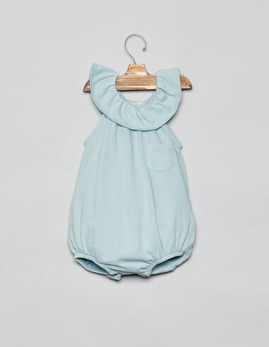 Light green romper - Playsuits & Dungarees - Nícoli