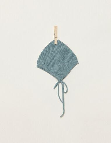Béguin point mousse bleu claire - Voir tout > - Nícoli