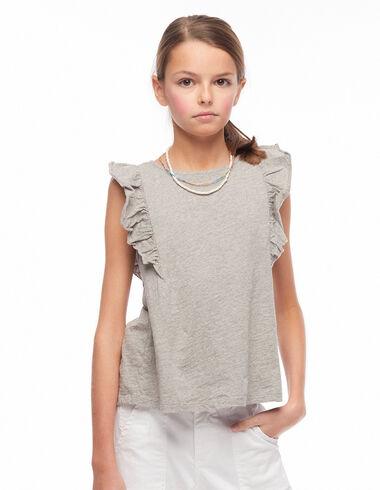 Camiseta alitas gris - Camisetas - Nícoli