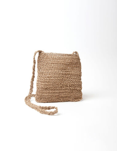 Natural raffia tote bag - Gift Ideas By Isabelle Dubrulle - Nícoli