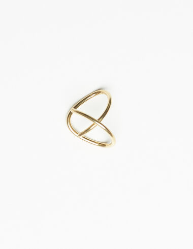 Spiral earcuff in gold tone - View all > - Nícoli