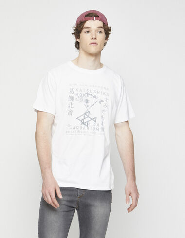 "White ""fish"" charity t-shirt - View all > - Nícoli"