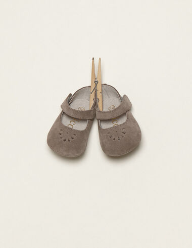 Grey Mary Jane shoes - Shoes - Nícoli