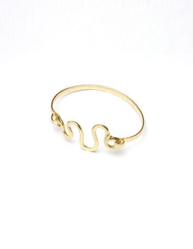 """""""Infinity Snake"""" gold bracelet - View all > - Nícoli"""