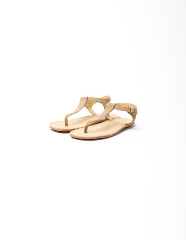 Sandales marron - Chaussures - Nícoli