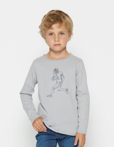 Boy's long-sleeved player charity t-shirt - View all > - Nícoli