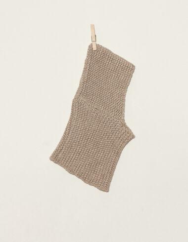 Nut hooded scarf - Scarves - Nícoli