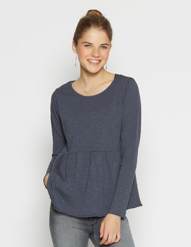 Girl's dark blue top - View all > - Nícoli