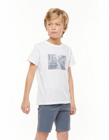 T-shirt street blanc - Tee-shirts - Nícoli