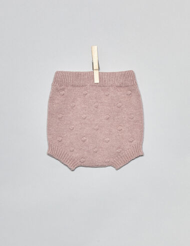 Pink bobble baby bloomers - Bloomers - Nícoli