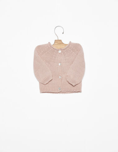 Pink button-up jacket - View all > - Nícoli