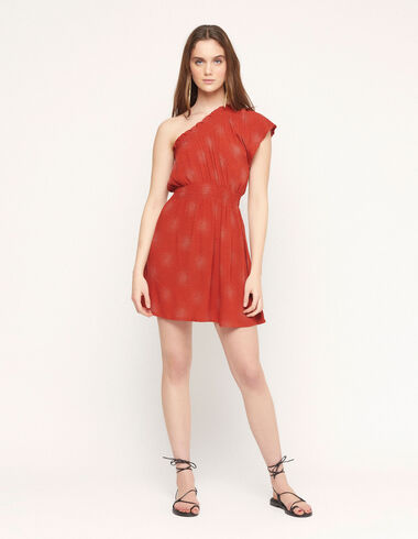 Vestido asimétrico espiral caldero - Special prices - Nícoli