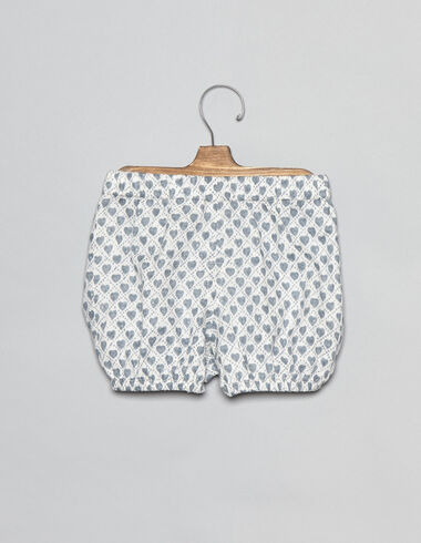 Lavender hearts baby bloomers - View all > - Nícoli
