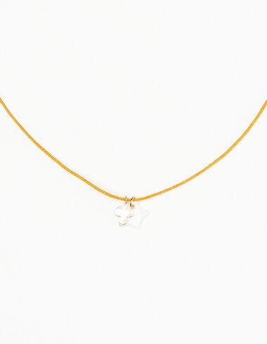 Collar trébol dorado - Collares - Nícoli