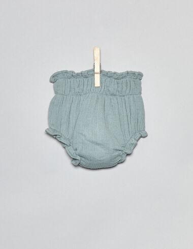 Bloomer vert premier âge - Culottes - Nícoli