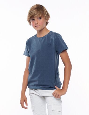 T-shirt smile bleu foncé - Voir tout > - Nícoli