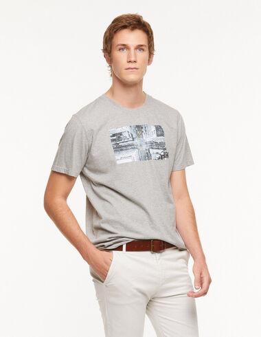 T-shirt 'New York' gris - Voir tout > - Nícoli