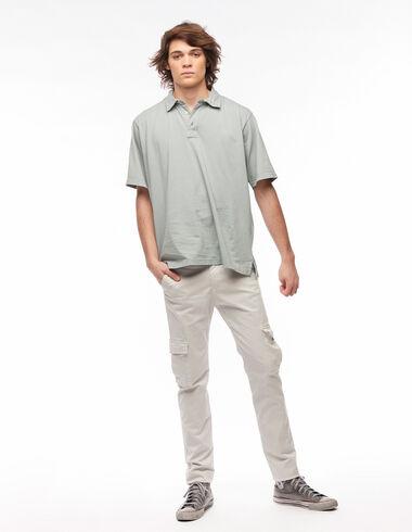 Pantalon chino poches beige - Pantalons - Nícoli