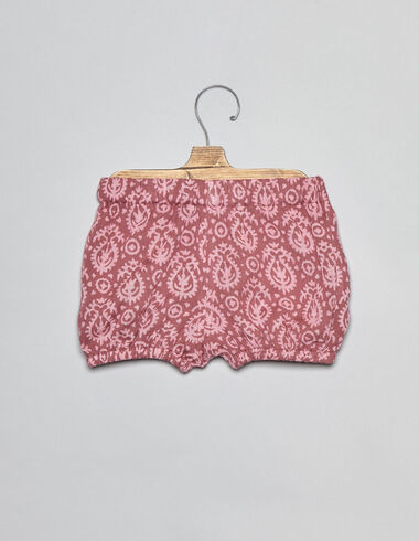 Strawberry paisley baby bloomers - Bloomers - Nícoli
