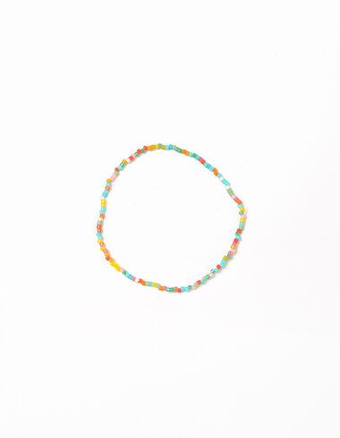Pulsera bolitas multicolor - Pulseras - Nícoli