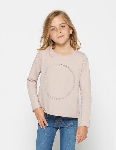 T-shirt solidaire étoiles pour petites filles - Voit tout > - Nícoli
