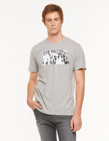 T-shirt 'London' gris - Voir tout > - Nícoli