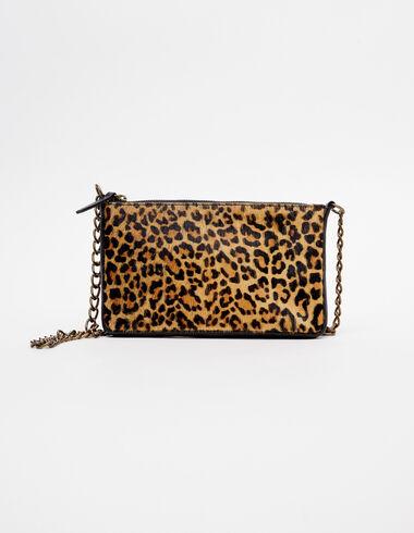 Bolso rectángulo leopardo nuez - Bolsos - Nícoli