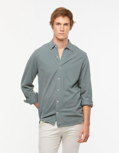 Dark green polo shirt - View all > - Nícoli
