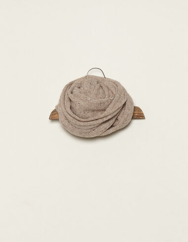 Nut open weave scarf - View all > - Nícoli