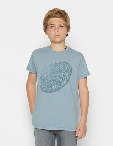 Boy's short-sleeved balloon charity t-shirt - View all > - Nícoli