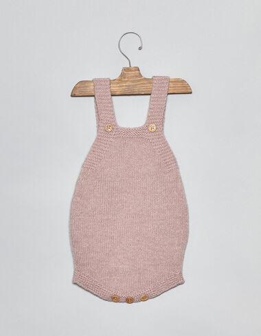 Ranita bebé punto rosa - Monos y petos - Nícoli