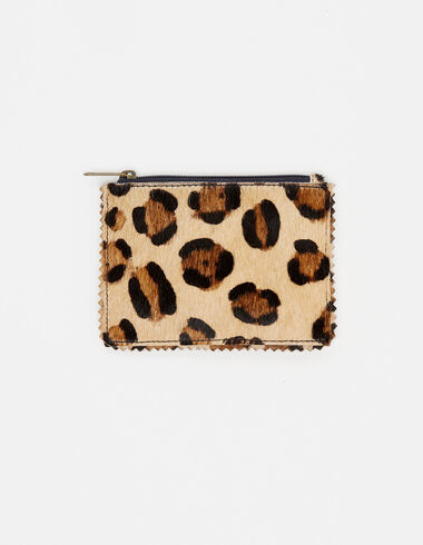 Nut leopard coin purse - View all > - Nícoli