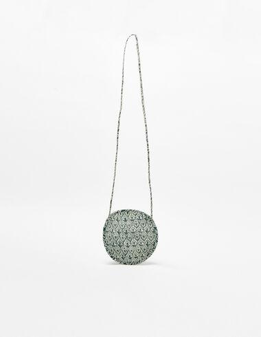 Green Indian print shoulder bag - View all > - Nícoli