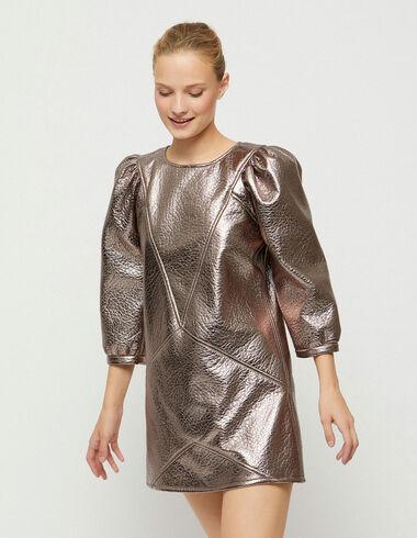 Robe rose métallisé  - Collection de Noël - Nícoli